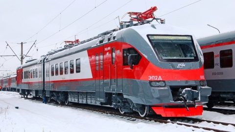 EP2D train for Armenia, source: Transmashholding