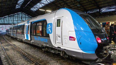 Francilien train in Paris, source: Bombardier