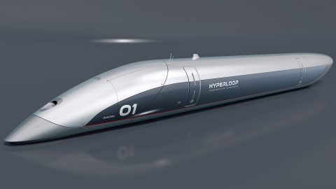 HyperloopTT passenger capsule, source: HyperloopTT