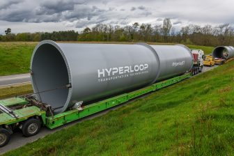 Hyperloop Transportation Technologies Tubes, source: Hyperloop Transportation Technologies