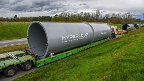 Hyperloop Transportation Technologies Tubes, source: Hyperloop Transportation Technologies