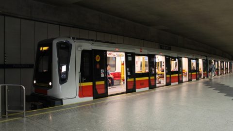Siemens Inspiro train in Warsaw metro, source: Wikipedia