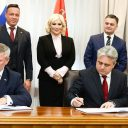 Signing of the railway deal between Russia and Serbia, source: Železnice Srbije
