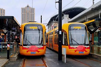 Songjiang tram, source: Keolis