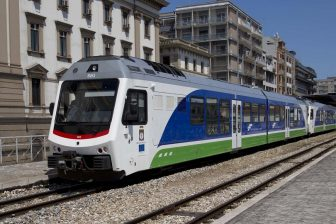 Stadler train in Apulia, source: Stadler