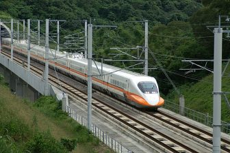 Taiwanese high-speed train, source: Wikipedia