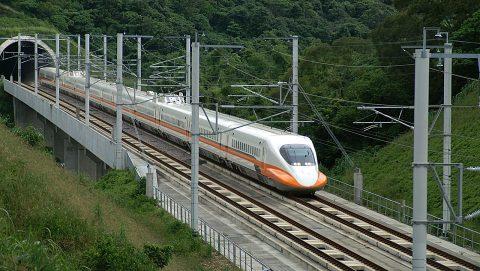 Taiwanese high-speed train, source: Wikipedia