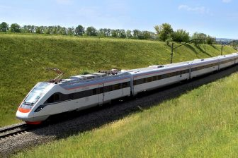 Tarpan high-speed train, source: Kryukov Railway Car Building Works