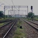Tracks near Terespol station, source: PKP PLK