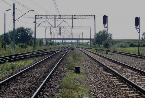 Tracks near Terespol station, source: PKP PLK