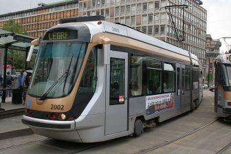 Tram in Brussels, source: Wikipedia