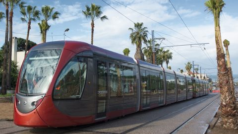 Alstom Citadis tram in Casablanca, source: Wikipedia