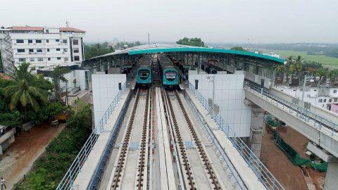 Bangalore metro, source: Alstom