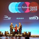 Catherine Trautmann receives European Railway Award, source: Marieke van Gompel