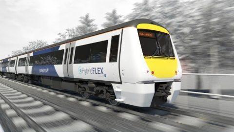 Class 170 Turbostar hybrid train, source: Porterbrook