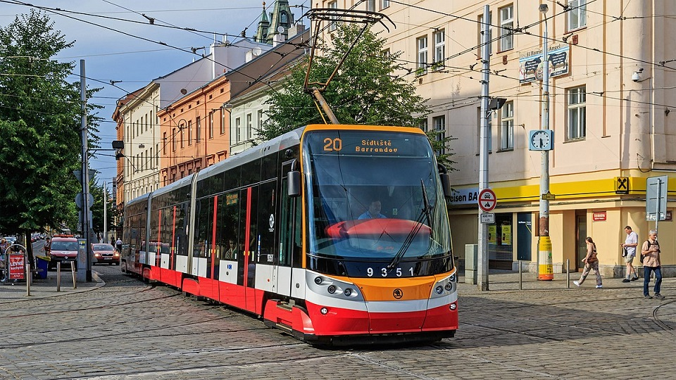 ForCity Alpha tram in Prague, source: Wikimedia Commons