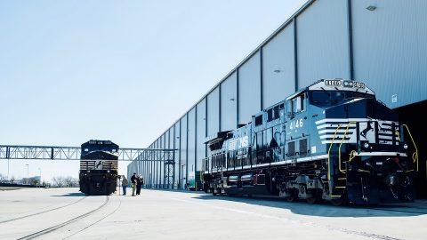 GE locomotives, source: General Electric