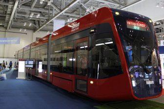 Hyundai Rotem catenary-free tram, source: Wikipedia