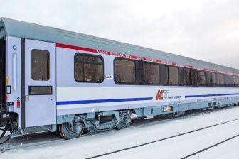 PKP Intercity dining car type 407A, source: H. Cegielski–Poznań