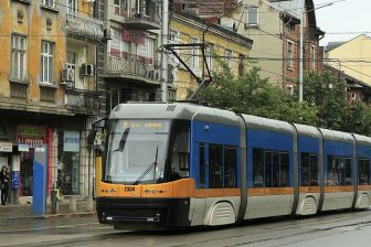 Pesa Swing tram in Sofia, source: Wikipedia