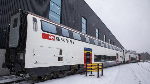 Refurbished IC2000 coaches, source: SBB