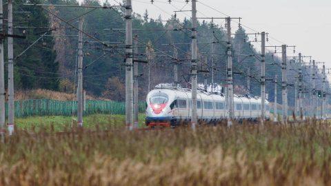 Sapsan high-speed train, source: Russian Railways