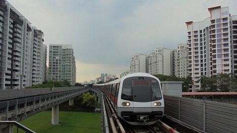 Singapore C151A train, source: Wikipedia