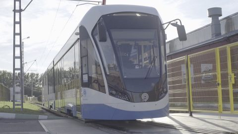 Vityaz self-driving tram, source: Cognitive Technologies
