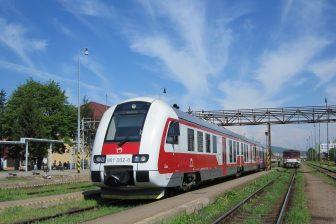 ZSSK Class 861 at Humenne railway station, source: Wikipedia