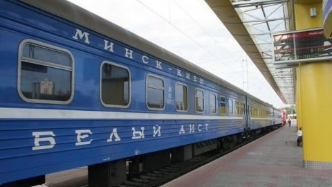 Belarusian sleeping cars, source: Belarusian Railway