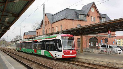 CityLink tram-train in Chemnitz, source: Wikipedia