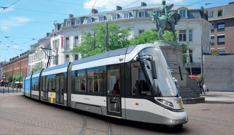 De Lijn Urbos tram for Antwerpen, source: De Lijn