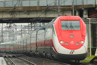 Frecciarossa ETR500 high-speed trains, source: Wikipedia