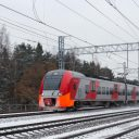 Lastochka train in Moscow region, source: Russian Railways (RZD)