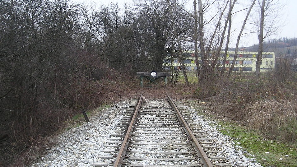 Lendava railway dead end, source: Wikipedia