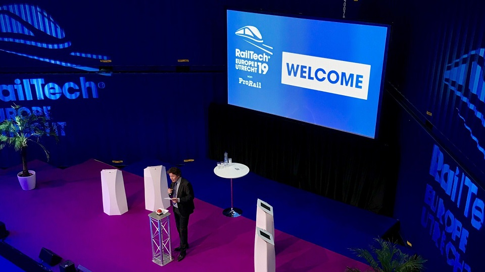 RailTech Europe official opening, source: RailTech