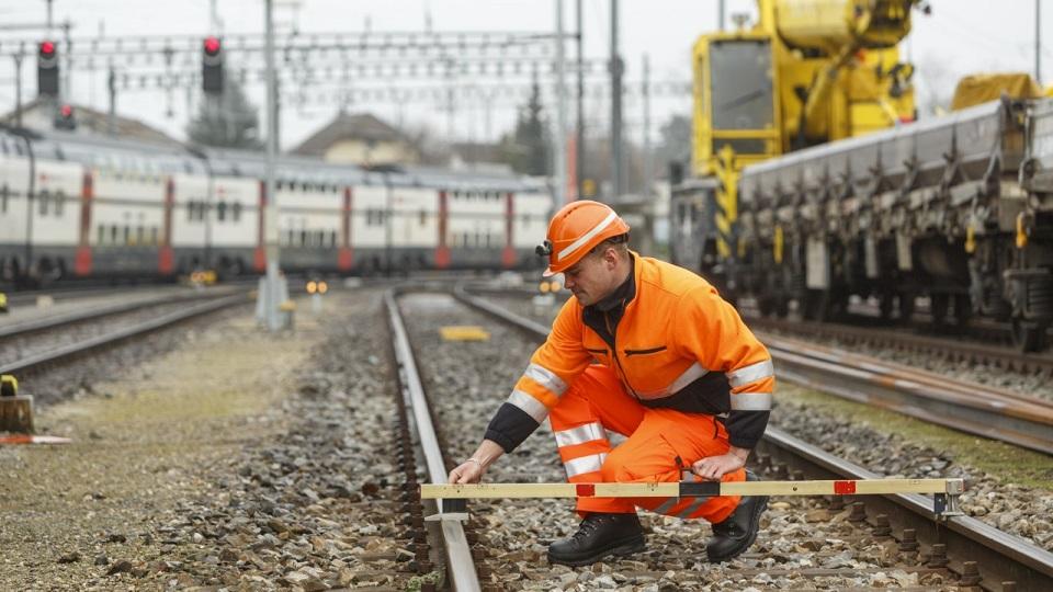 Railway infrastructure, source: SBB