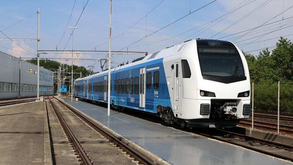 Stadler Flirt train for Syntus, source: Stadler Rail