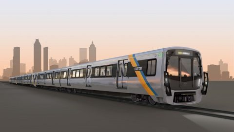 Stadler METRO train for Atlanta, source: Stadler