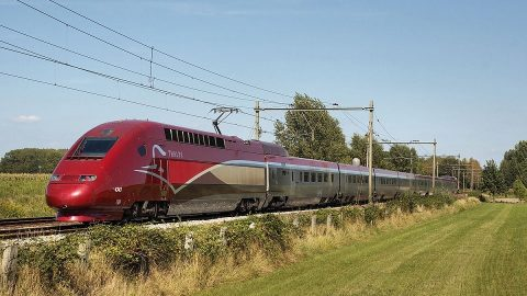 Thalys high-speed train, source: Wikipedia