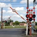 Level crossing in Belgium, source: Infrabel