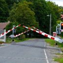 Level crossing in Czechia, source: SŽDC