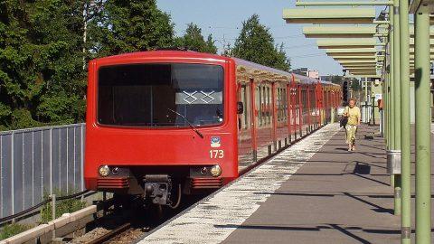 M100 train in Helsinki Metro, source: Wikipedia