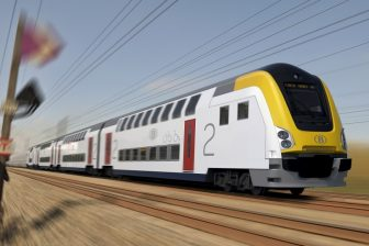 M7 double-decker train of NMBS, source: Bombardier Transportation
