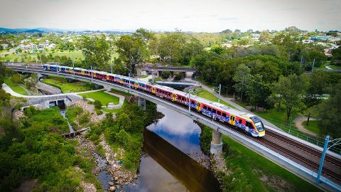 NGR700 train in Queensland, source: Bombardier Transportation