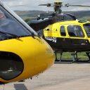 Network Rail helicopters monitor tracks, source: Network Rail