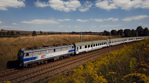 PKP Intercity passenger train, source: PKP Intercity