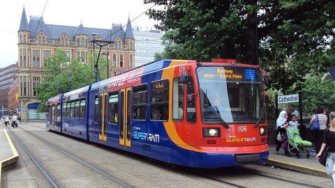 Sheffield Supertram, source: Wikipedia