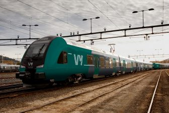 Vy-branded train in Norway, source: Vy (NSB)