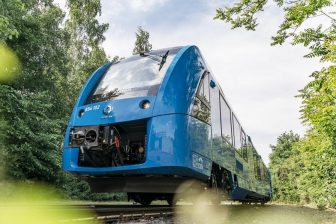 Alstom Coradia iLint hydrogen-powered train, source: Alstom